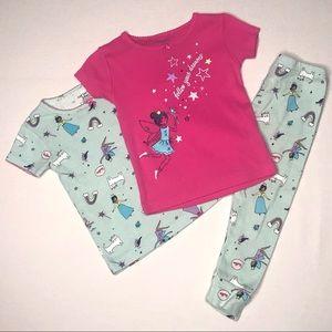 Carter's 24 M Girls 3 Piece Pajama Set